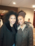 My wife & Dick Gregory's daughter