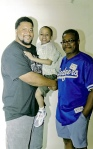 Earl w/former GB Packers Player Gilbert Brown